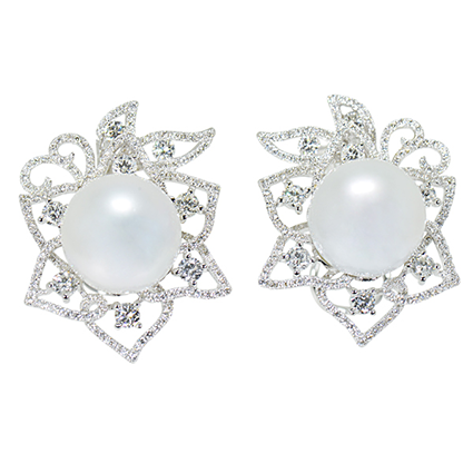 Earring Colored Stone 0050